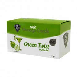 Safe - Massagekaars Green Twist Appletini