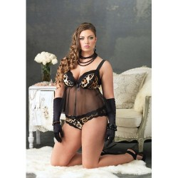 Babydoll Padded Cups & Panty