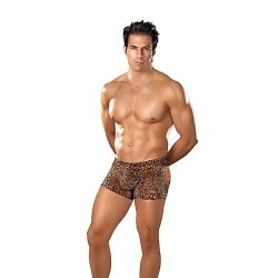 Dierenprint short mannen