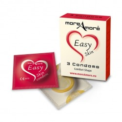Erotiekfabriek-MoreAmore - Condoom Easy Skin 3 st.
