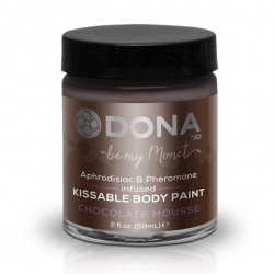 Erotiekfabriek-Dona - Body Paint Chocolade Mousse 60 ml
