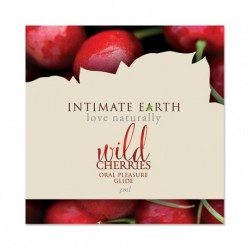 Intimate Earth - Oral Pleasure Glide Wilde Kersen Foil 3 ml
