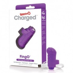 The Screaming O - Charged FingO Vinger Vibe Paars