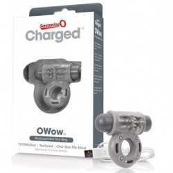 The Screaming O - Charged OWow Vibe Ring Grijs