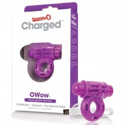 The Screaming O - Charged OWow Vibe Ring Paars
